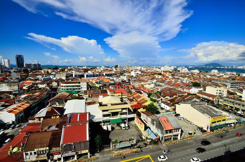 Georgetown Penang Malezja zdjęcia stock