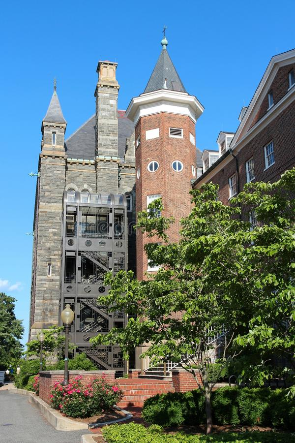 Georgetown universitet royaltyfria foton