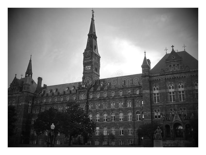 Georgetown universitet royaltyfri fotografi