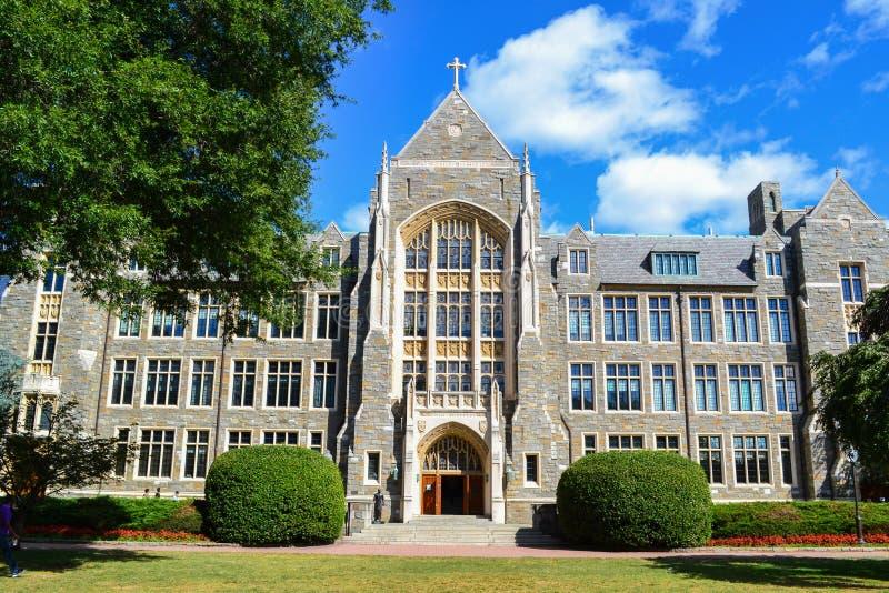 Georgetown universitet royaltyfri bild