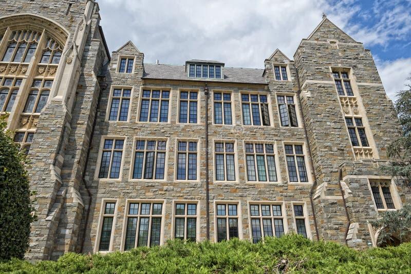 Georgetown universitet i Washington DC arkivbilder
