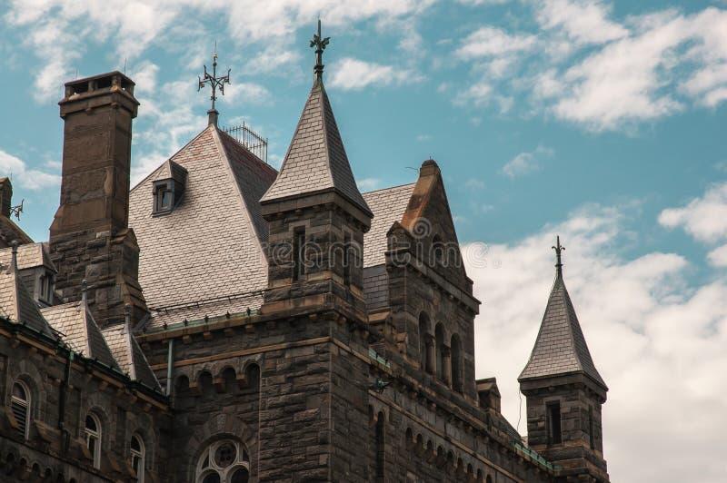 Georgetown university immagine stock
