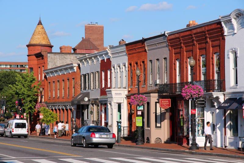 Georgetown, Washington fotografie stock
