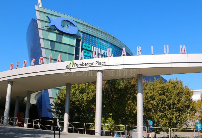 Georgia Aquarium à Atlanta du centre, GA image libre de droits