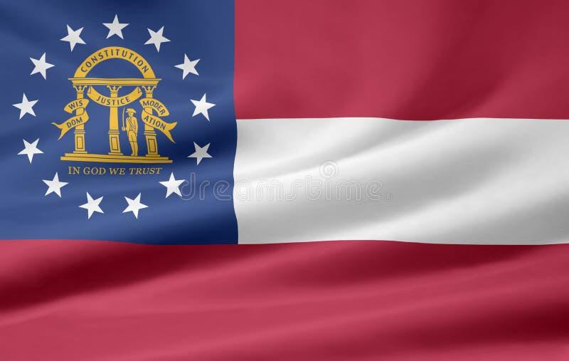 Georgia bandery royalty ilustracja
