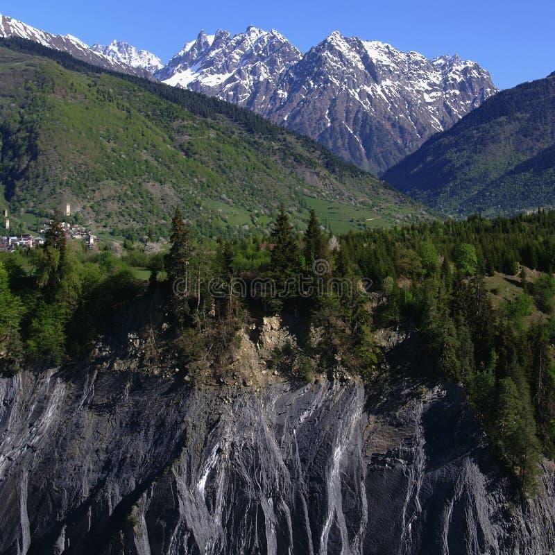 Georgia berg arkivbilder