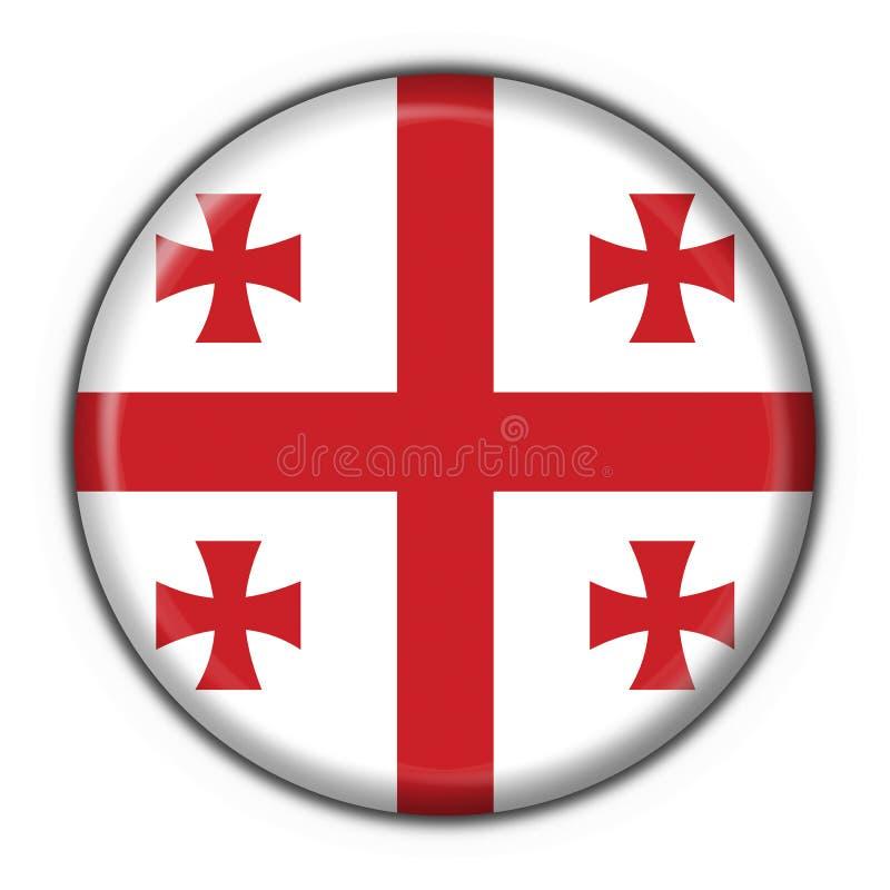 Download Georgia Button Flag Round Shape Royalty Free Stock Image - Image: 5542086