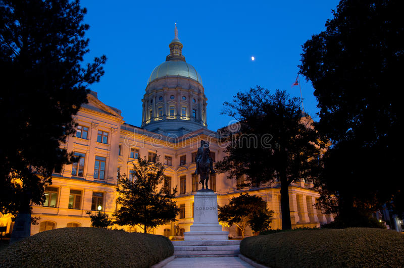 Georgia Capitol Building royalty free stock photos