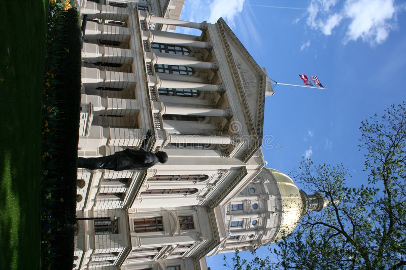Georgia Capitol Building royalty free stock photo