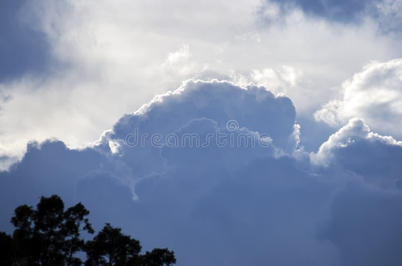 Georgia Cumulonimbus Storm Clouds royalty free stock images