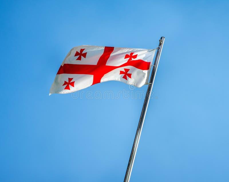 Georgia Flag foto de stock royalty free