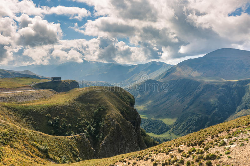 georgia Horizontal de montagne images stock