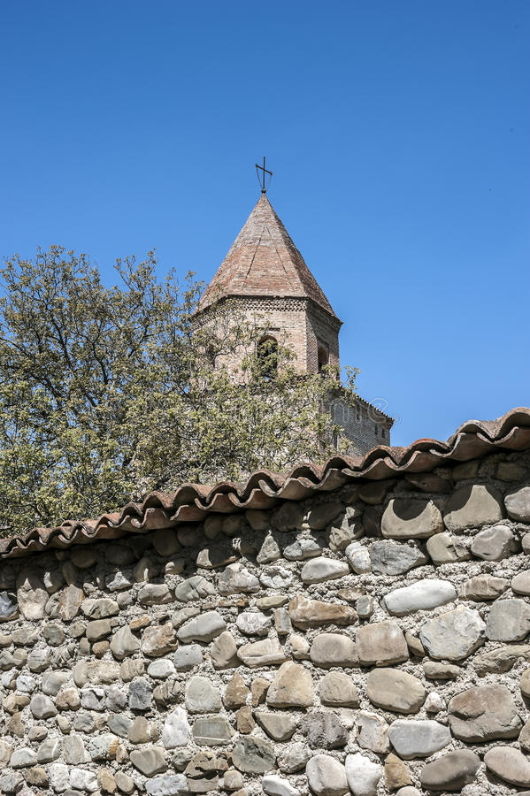 Georgia, Kakheti , New Shuatma convent , founded in the 16th century . royalty free stock photography