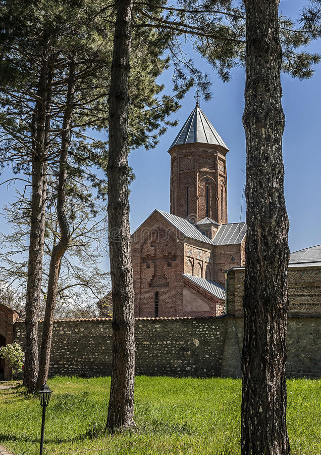 Georgia, Kakheti , New Shuatma convent. Founded in the 16th century stock photos