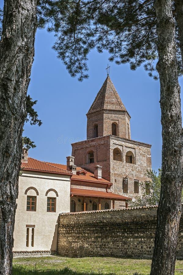 Georgia, Kakheti , New Shuatma convent . Georgia, Kakheti , New Shuatma convent , founded in the 16th century stock photography