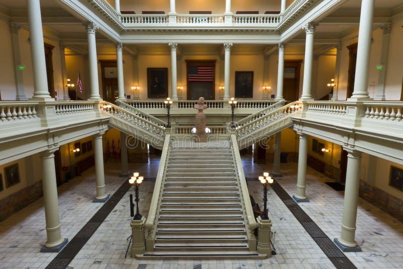georgia kapitałowy stan fotografia royalty free