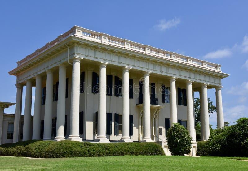 Georgia Mansion Antebellum foto de stock royalty free