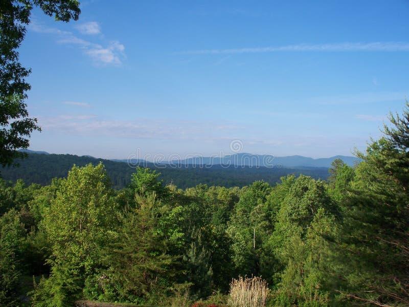 Georgia Mountain View lizenzfreie stockbilder