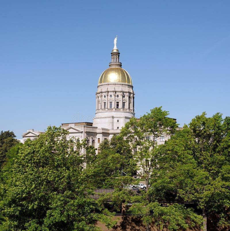 Georgia State Capitol fotografering för bildbyråer
