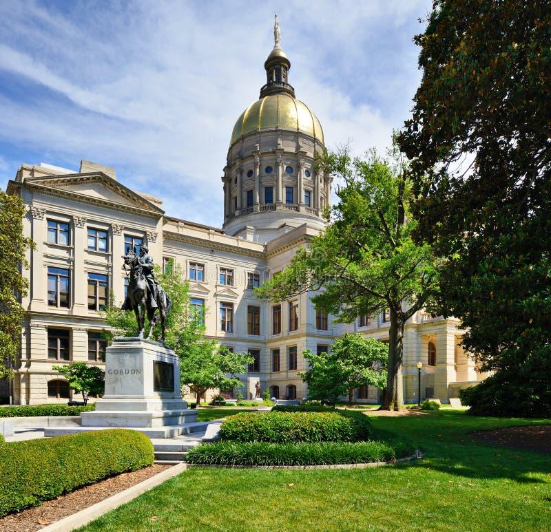 Georgia State capitol arkivbilder