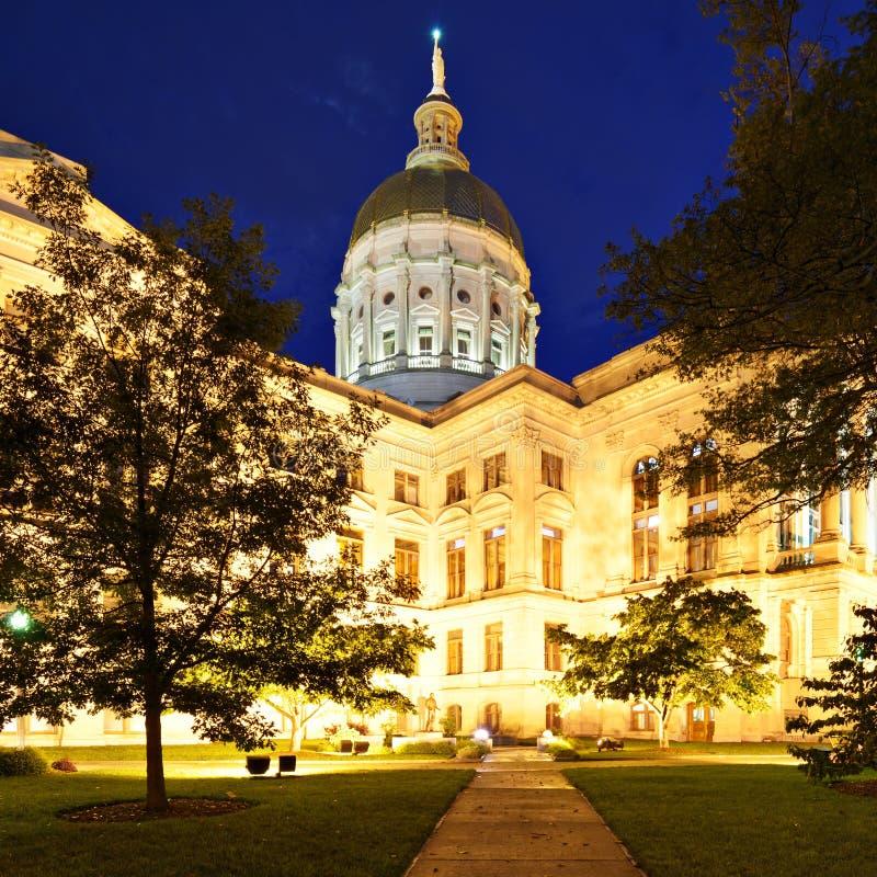 Georgia State-capitol royalty-vrije stock fotografie