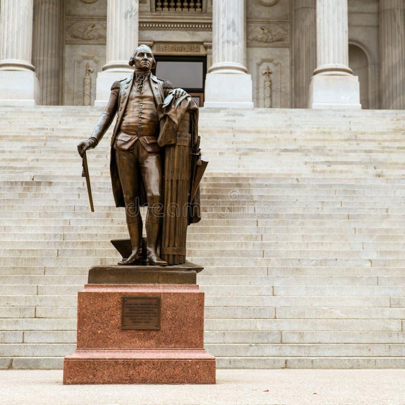 Georgia Washington en Carolina Statehouse del sur foto de archivo libre de regalías