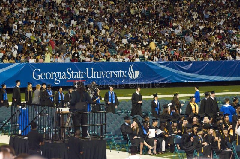 Georgia-Zustandstaffelungzeremonie 2008 lizenzfreie stockfotografie