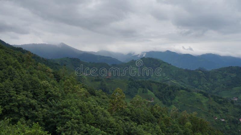 Georgian горы стоковые фотографии rf
