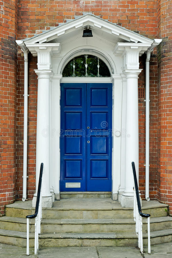 georgian двери английское стоковое изображение rf