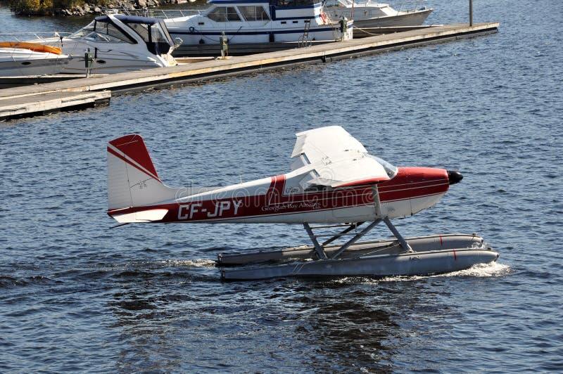 Georgian Airways seaplane stock images