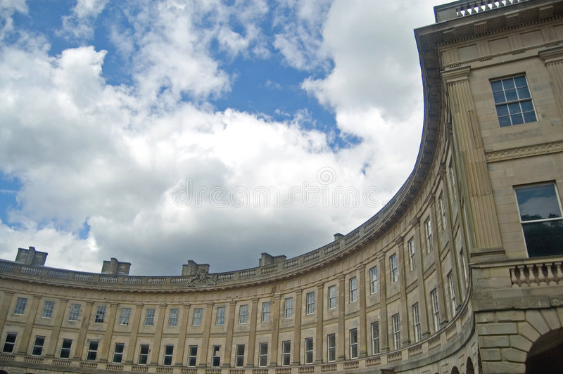 Download Georgian Crescent In Buxton Stock Image - Image: 5527273