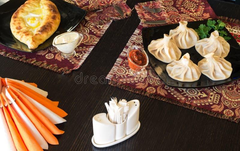 Georgian restaurant royalty free stock photo