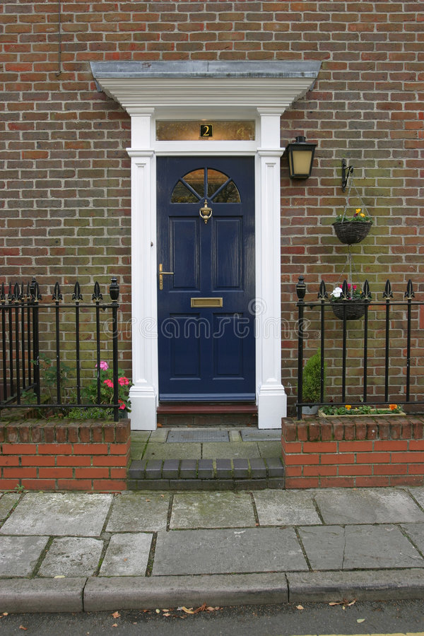 Georgian Door 3 royalty free stock photo