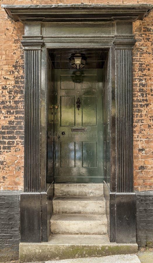 Georgian door royalty free stock photography