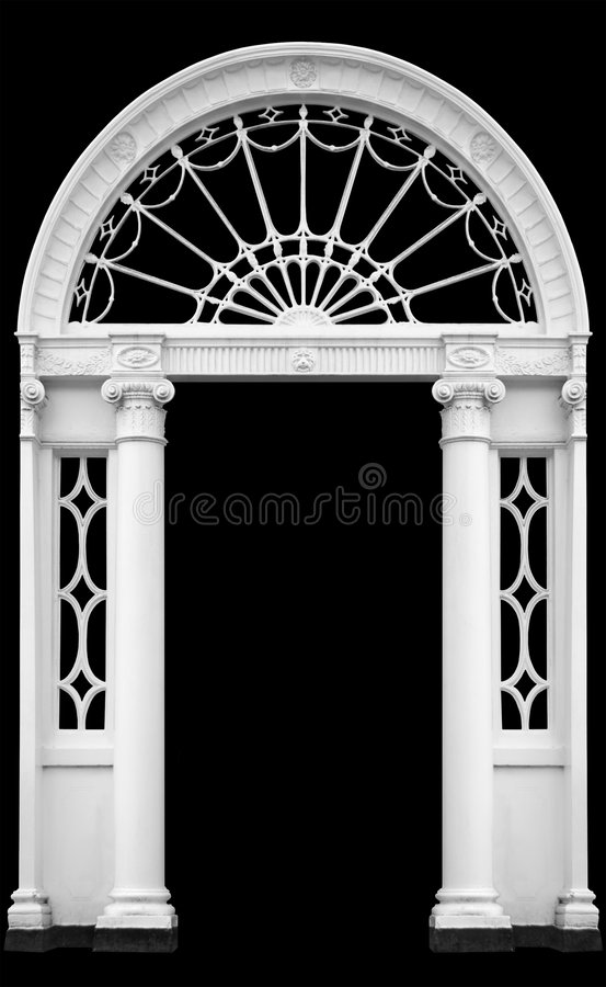Free Georgian Doorway Royalty Free Stock Photos - 2970998