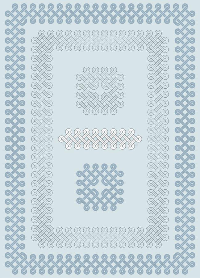 Download Georgian knot ornament stock illustration. Illustration of decorative - 20971034