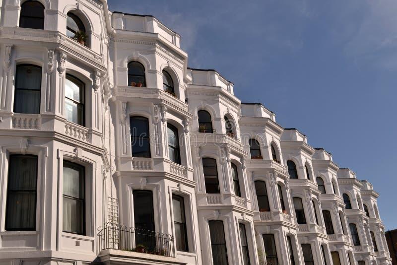 Georgian London Notting Hill Houses Apartments Stock Photo - Image ...