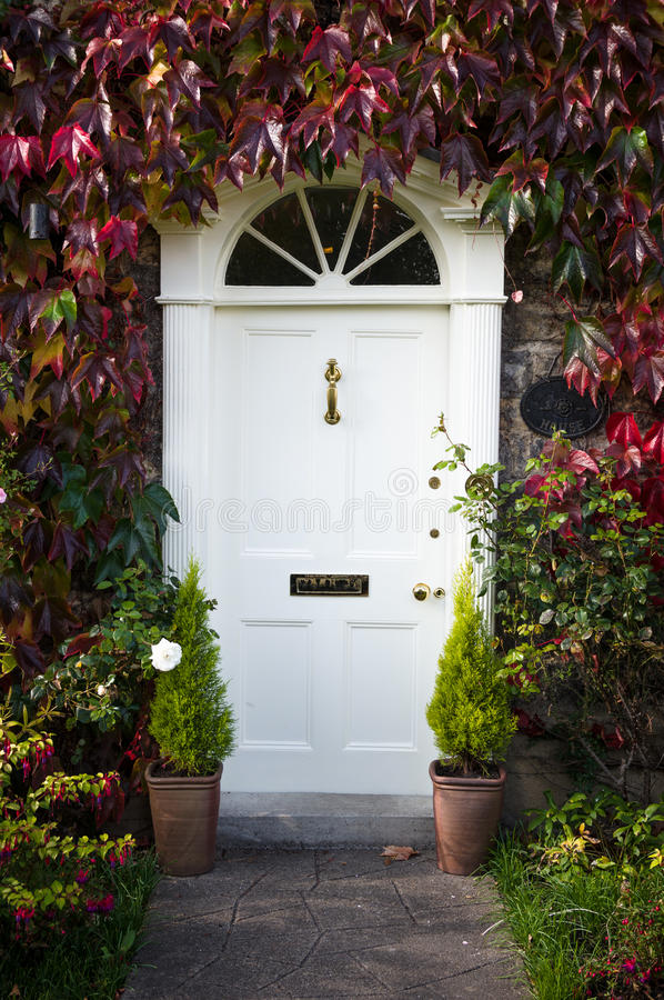 Georgian Style Door royalty free stock photo