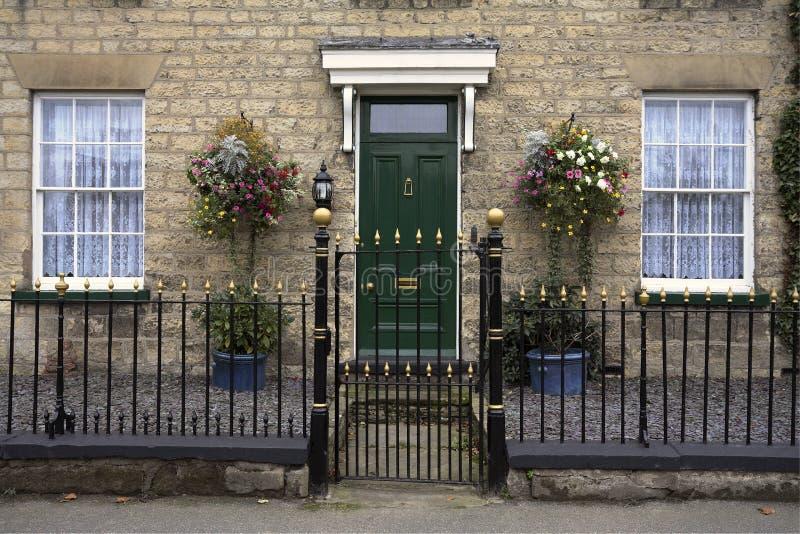 Georgian Town House - England royalty free stock photos