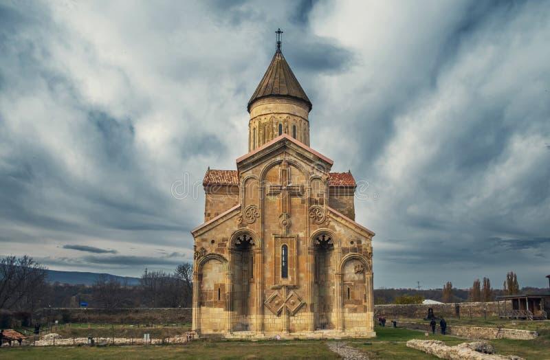 Georgische Kathedrale Samtavisi stockfotos