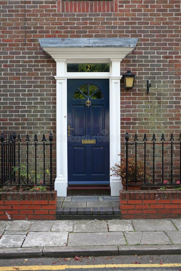 Georgische Tür stockbilder