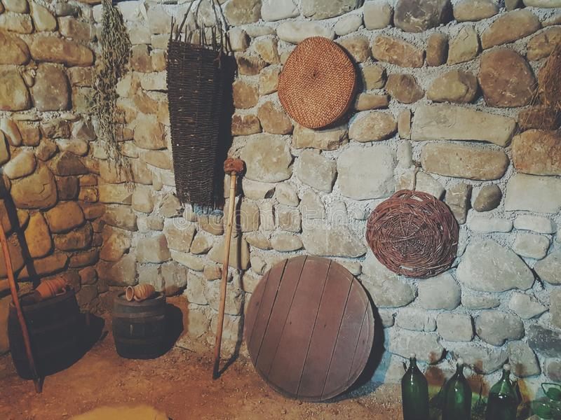 Georgischer Wein lizenzfreie stockbilder