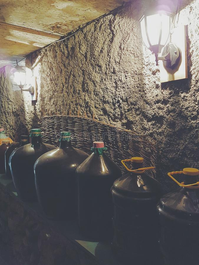 Georgischer Wein stockfotografie