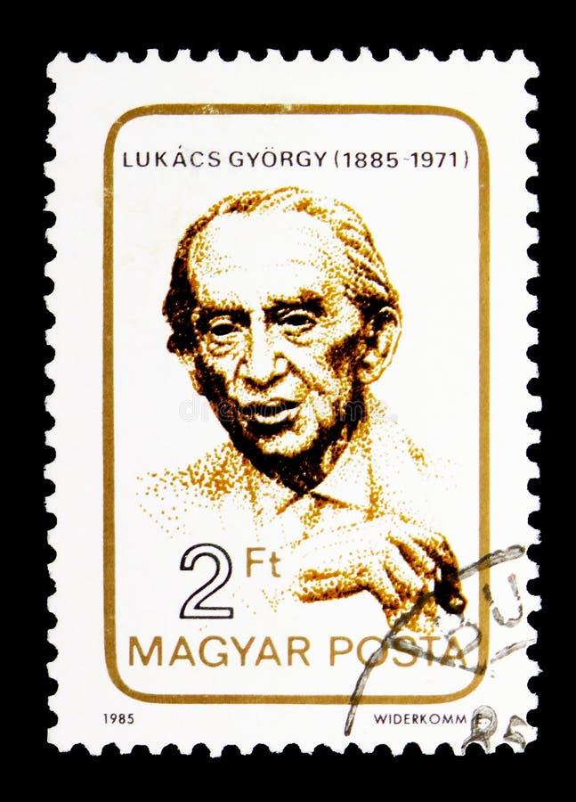Georgy Lukacs, κομμουνιστικός φιλόσοφος, εκπαιδευτικός, άνθρωποι serie, CI στοκ φωτογραφία με δικαίωμα ελεύθερης χρήσης