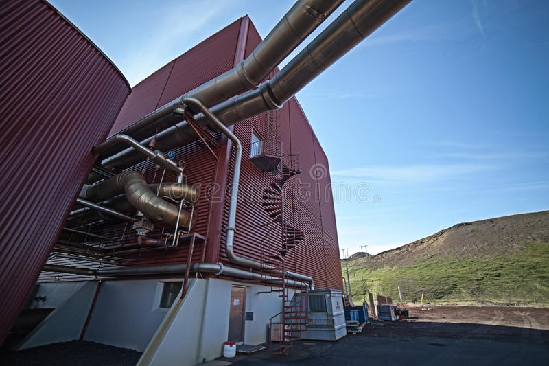 geotermiczna moc zdjęcie stock