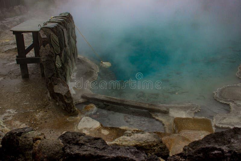 Geotermiczny basen w Rotorua, Nowa Zelandia obraz stock