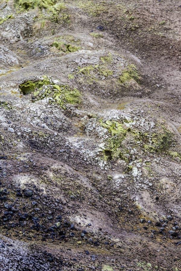 geotermiczny krajobrazu zdjęcie royalty free