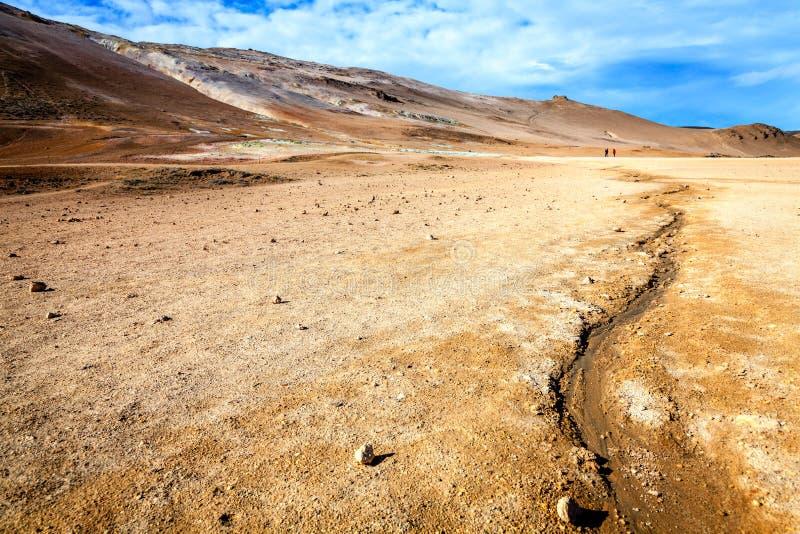 geotermiczny pola obrazy stock