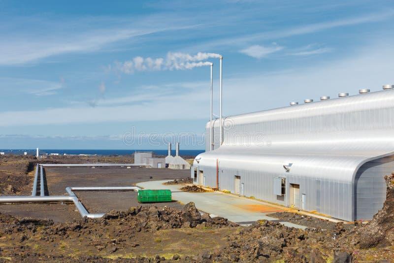 Geotermiczny pole Gunnuhver, Iceland obraz stock