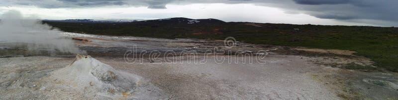 Geotermiczny raj zdjęcia royalty free